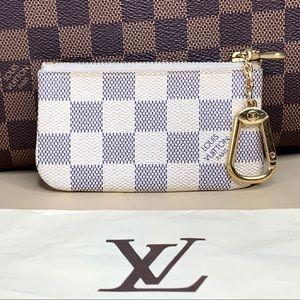 Louis Vuitton Bags - Louis Vuitton Damier Azur Cles / Key Chain Pouch